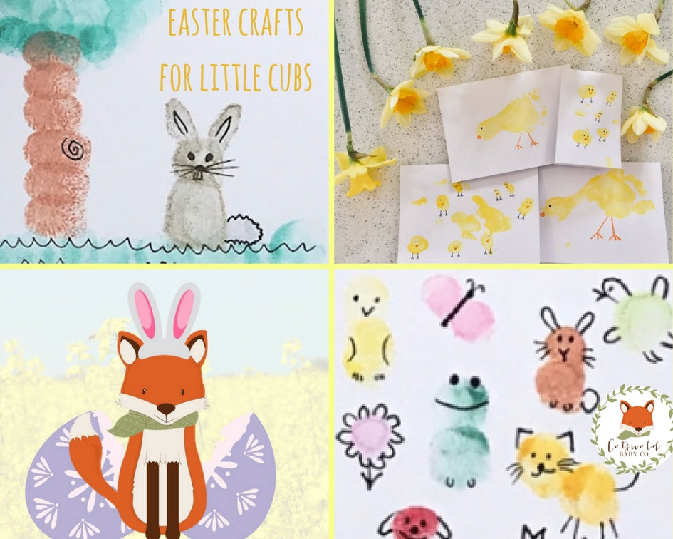 Easter Crafts for Little Cubs