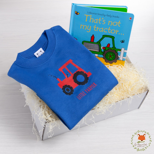 Little Farmer T-Shirt Gift Set | Cotswold Baby Co