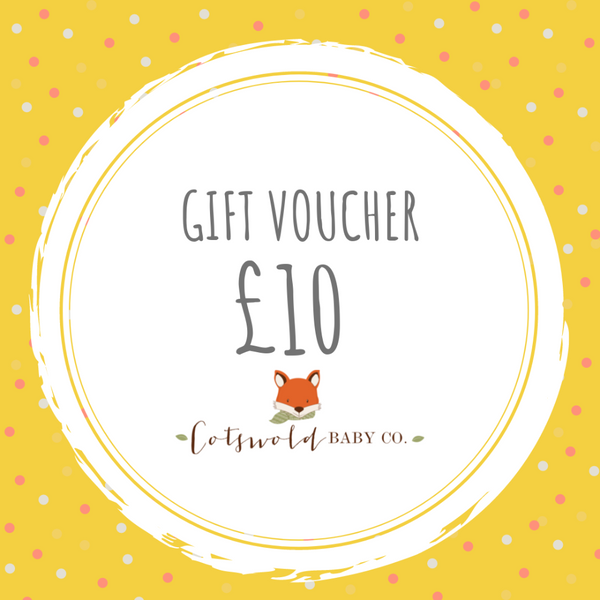 £10 gift voucher - cotswold baby co