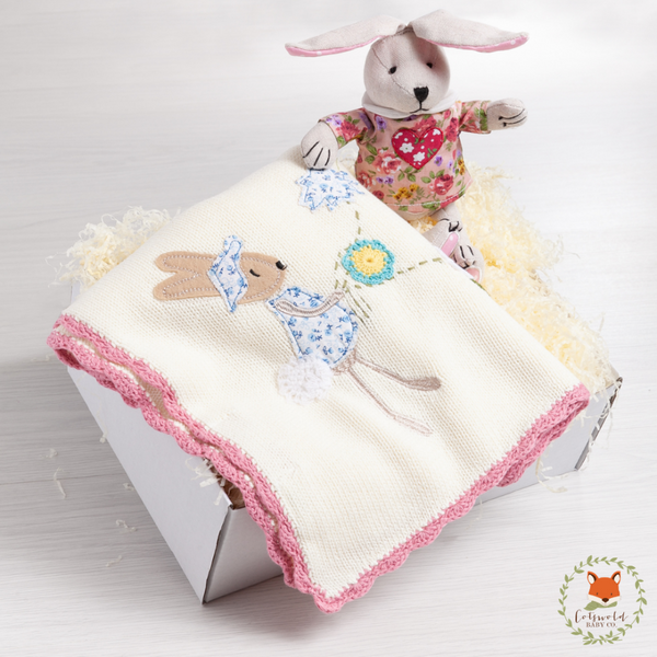 Little Bunny Blanket Gift Set | Cotswold Baby Co