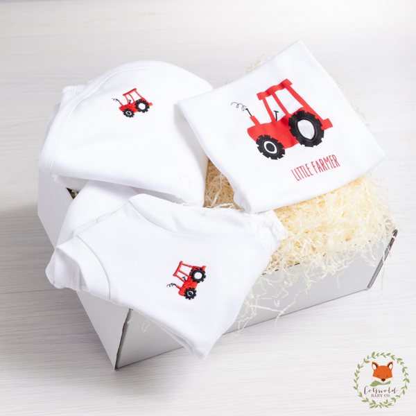 Lovely Little Farmer Baby Gift Set