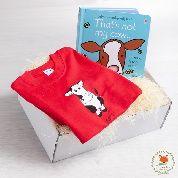 Mooo Cow Gift Set | Cotswold Baby Co