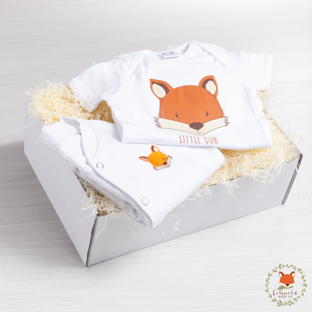 Little Cub Sleepsuit Gift Set | Cotswold Baby Co