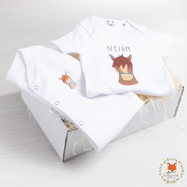 Little Pony Sleepsuit Gift Set | Cotswold Baby Co