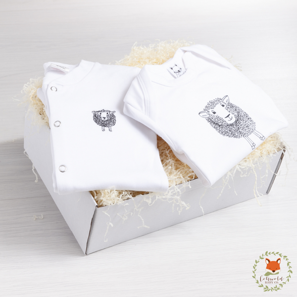 Little Lamb Sleepsuit Gift Set | Cotswold Baby Co
