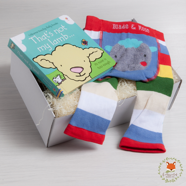 Little Sheep Book & Legging Gift Set | Cotswold Baby Co