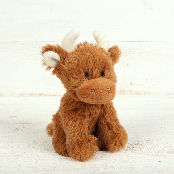 Little Highland Cow Soft Toy by Jomanda | Cotswold Baby Co