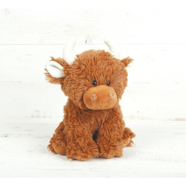 Hattie Highland Cow Soft Toy by Jomanda | Cotswold Baby Co