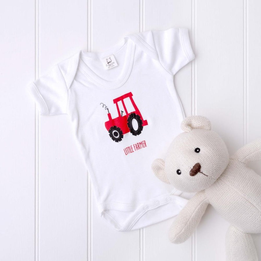 Little Farmer Bodysuit by Cotswold Baby Co