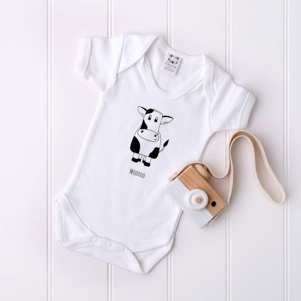 Mooooo! Bodysuit | Cotswold Baby Co