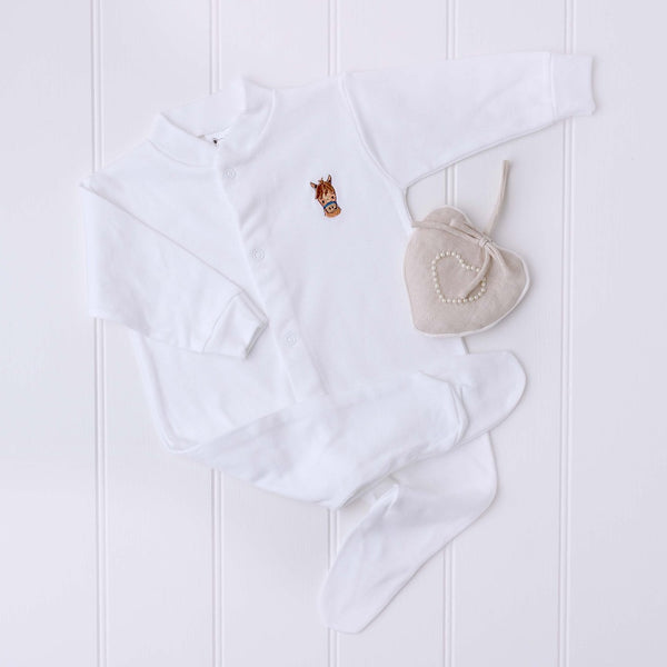 Cheeky Horse Sleepsuit | Cotswold Baby Co