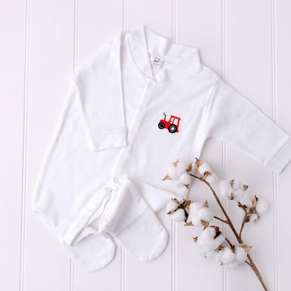 Little Farmer Sleepsuit | Cotswold Baby Co