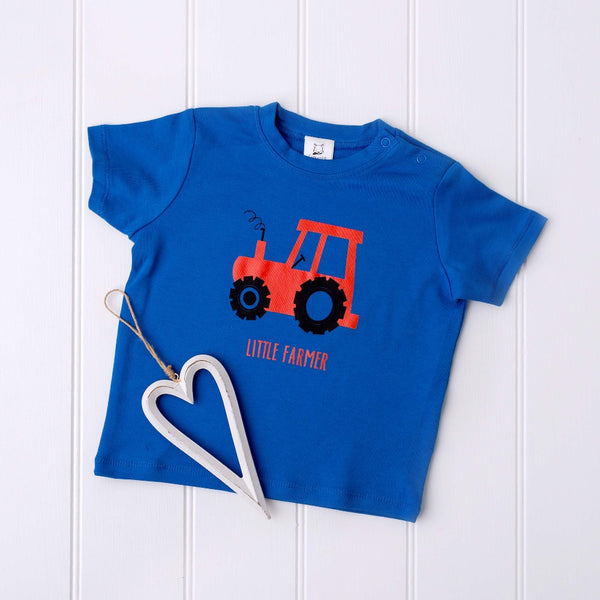 Little Farmer Tractor T-Shirt