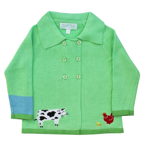 Farmyard Friends Pram Coat by Powell Craft | Cotswold Baby Co