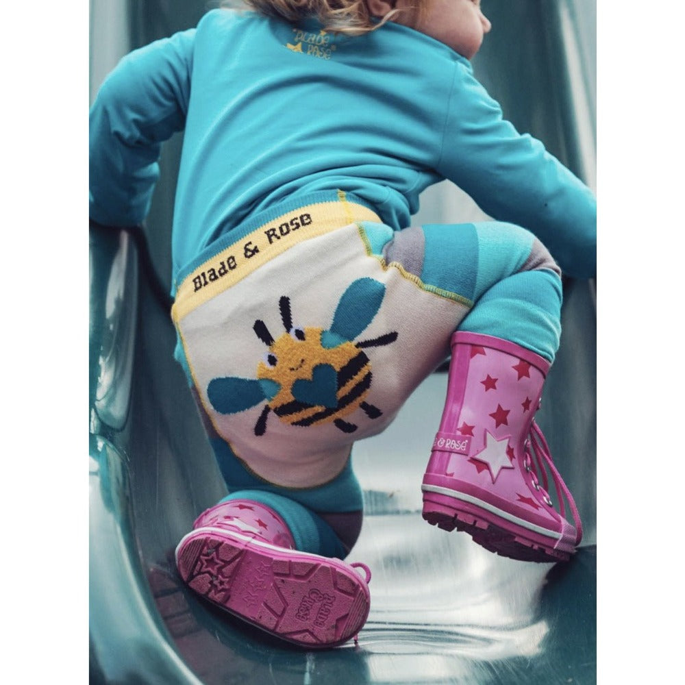 Buzzy Bee Leggings | Blade & Rose | Cotswold Baby Co.