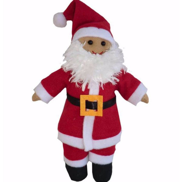 Father Christmas rag doll - cotswold baby co