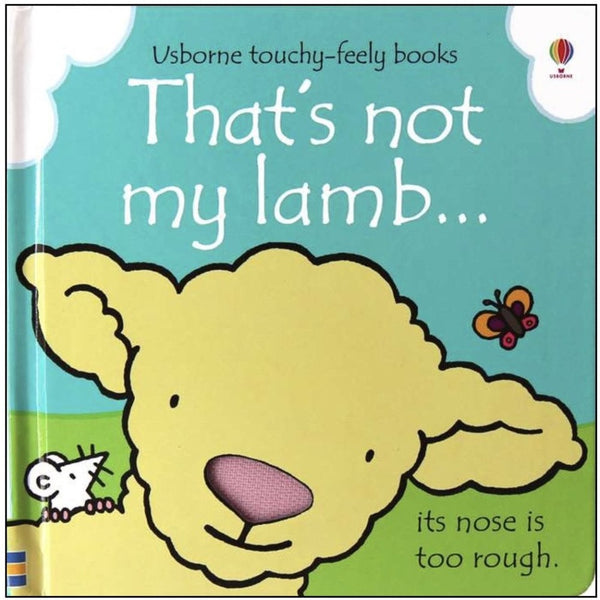 that's not my lamb board book - cotswold baby co