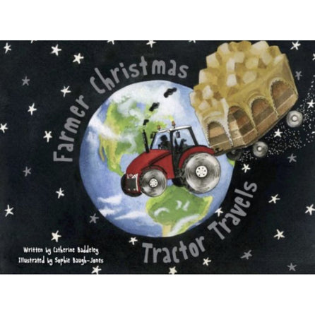 Farmer Christmas Tractor Travels Children's Book