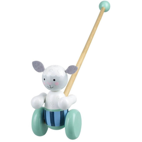 Sheep Push Along Wooden Toy