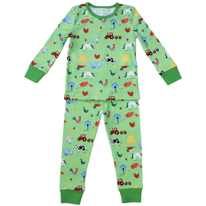 Down at the Farm Pyjamas by Powell Craft