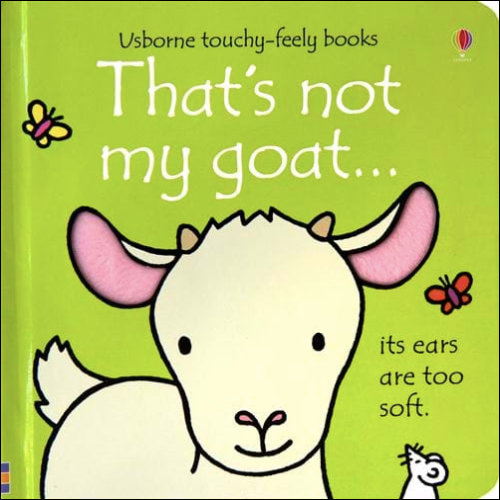 That's not my goat...book by Usborne