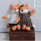 Mr & Mrs Fox Soft Toy by Powell Craft