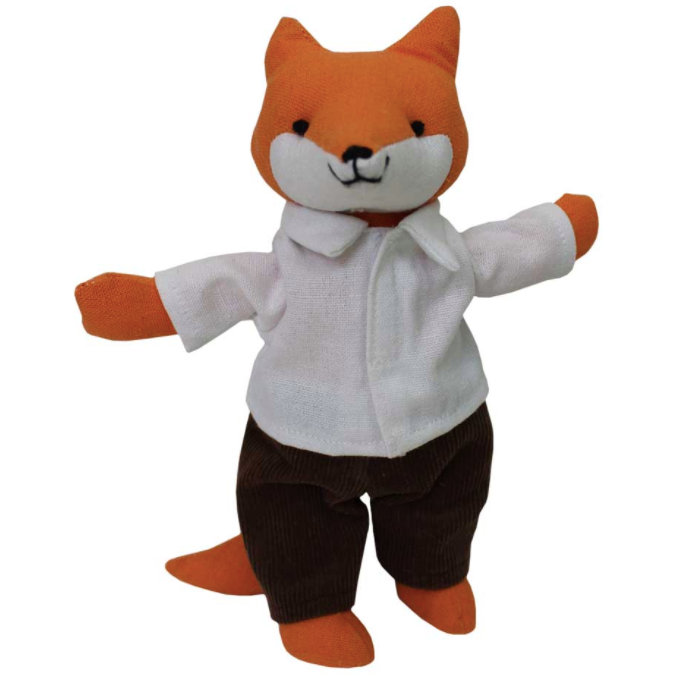 Mr Fox Soft Toy by Powell Craft