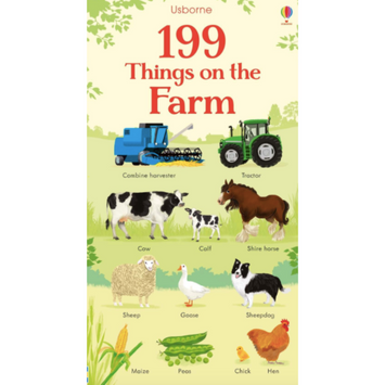199 Things on the Farm by Usborne books
