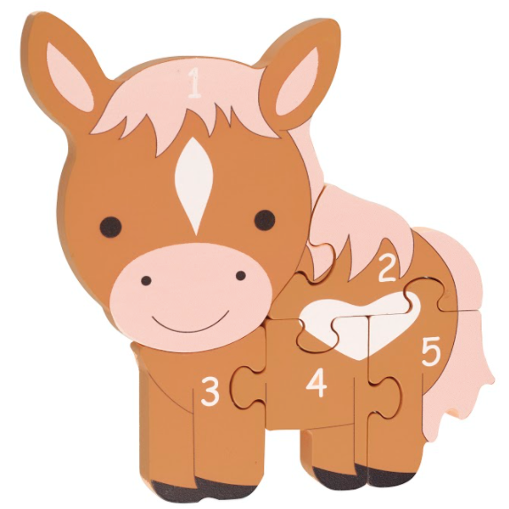 Pony Number Puzzle by Orange Tree Toys