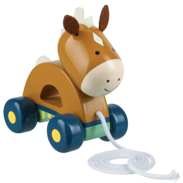 Pony pull along by Orange Tree Toys