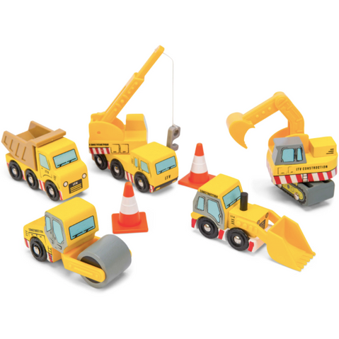 Construction Vehicles Set by Le Toy Van