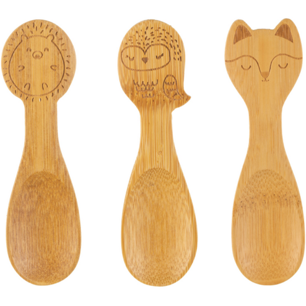 Woodland Bamboo Spoons (Set of 3)