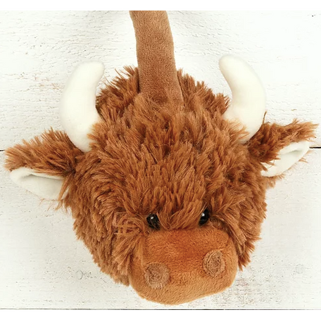 Highland Cow Ear Muffs by Jomanda