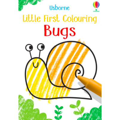 Little First Colouring Bugs by Usborne