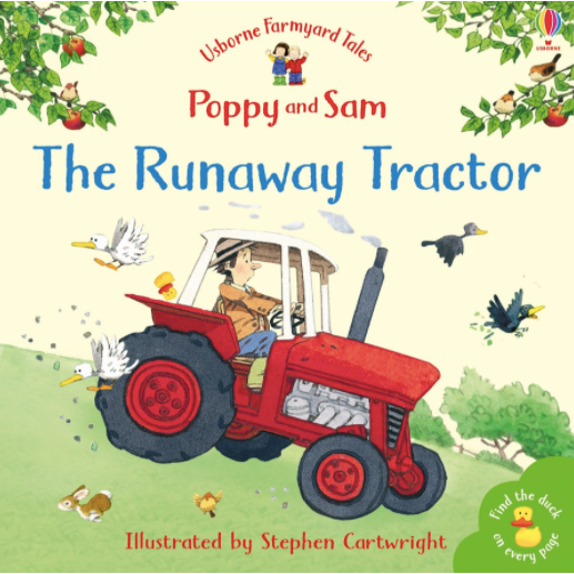 The Runaway Tractor by Usborne