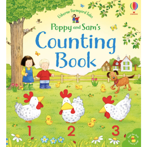 Poppy & Sam's Counting Book, by Usborne