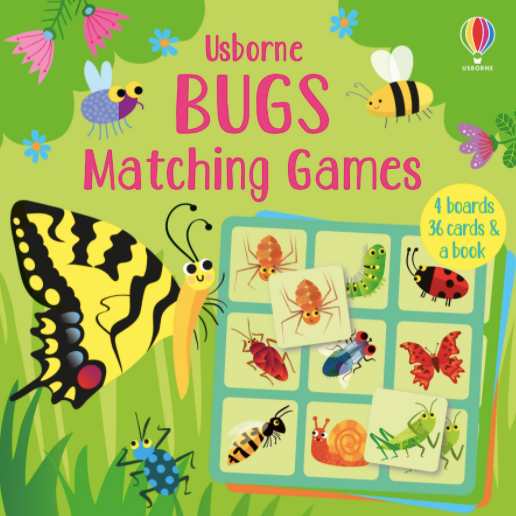 Usborne Bugs Matching Game