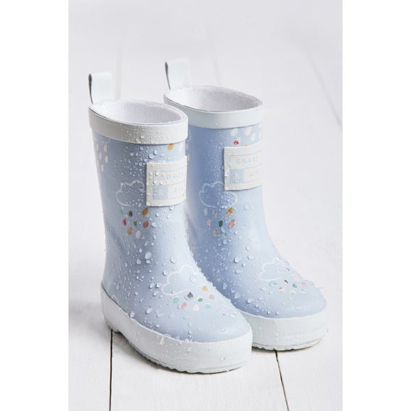 Baby Blue Wellies by Grass & Air
