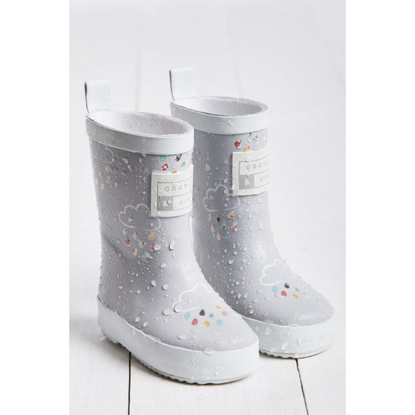 Grey Wellies by Grass & Air