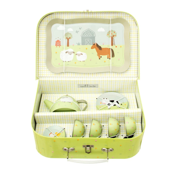 Farmyard Friends Kids Tea Set