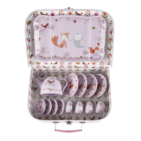Woodland Friends Kids Tea Set
