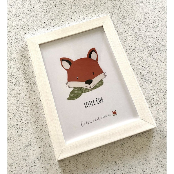 Little Cub A4 Print | Cotswold Baby Co.