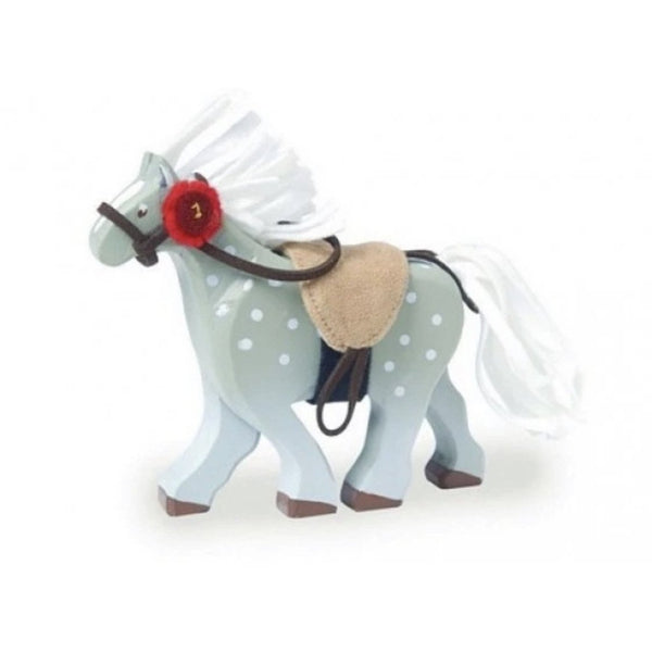 Grey Wooden Riding Horse  | Le Toy Van