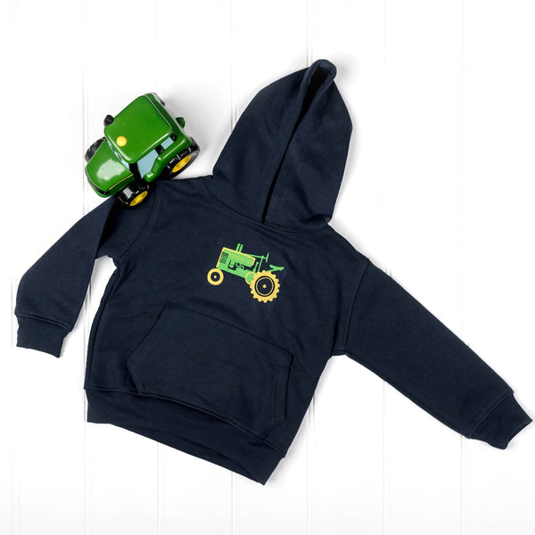 Vintage Tractor Hooded Jumper | Cotswold Baby Co.