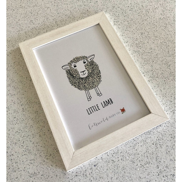 Little Lamb A4 Print | Cotswold Baby Co.