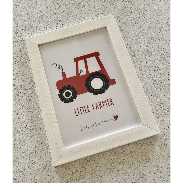 Little Farmer A4 Print | Cotswold Baby Co.