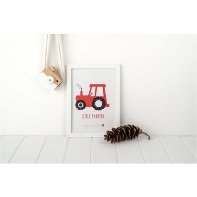 little farmer print - cotswold baby co