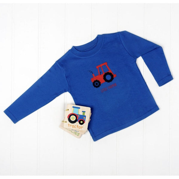 Little Farmer Long Sleeve Tractor T-Shirt | Cotswold Baby Co