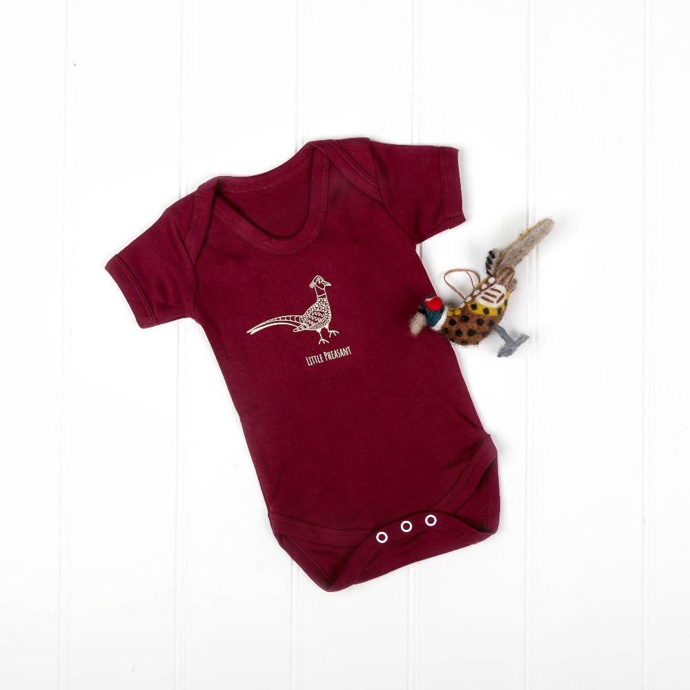 Little Pheasant Bodysuit | Cotswold Baby Co