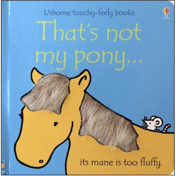 That's not my pony ...